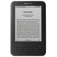 Электронная книга Amazon Kindle 3 Wi-Fi+3G