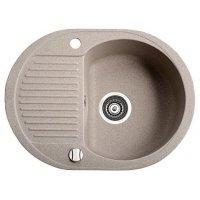 Кухонная мойка MARMORIN DURO 1 bowl sink draining board-small