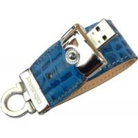 USB-накопитель Prestigio Leather  Drive NAND Flash 16 GB Blue
