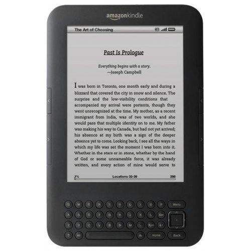 Электронная книга Amazon Kindle 3 Wi-Fi+3G Graphite - описание, отзывы, цен