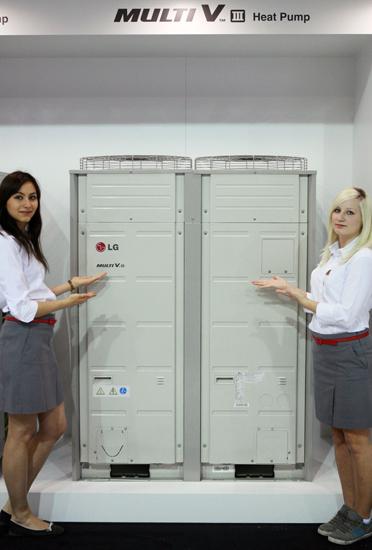 Мультизональная (VRF) система кондиционирования воздуха LG Multi V III Heat Pump с режимом нагрева