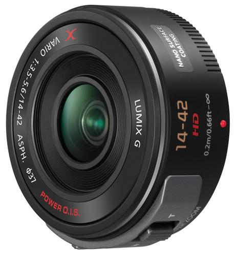 Объектив LUMIX G X Vario PZ 14-42 мм, предназначенный для фотоаппаратов семейства LUMIX G Micro System, заслужил награду в категории «Лучший полупрофессиональный объектив для компактных системных фотоаппаратов»
