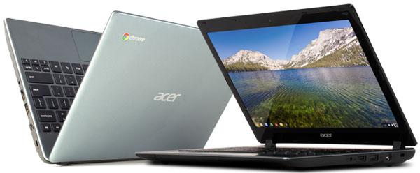 Acer C7: Acer представила самый недорогой ноутбук за $199