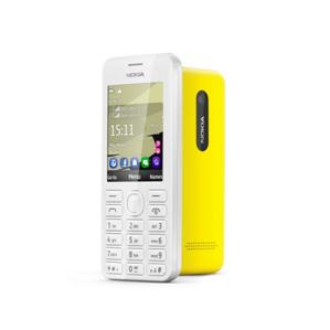 Nokia 206 мобильный телефон с поддержкой  ICQ и WhatsApp, с одной и с двумя SIM-картами с эксклюзивной технологией EasySwap замены SIM-карт без выключения устройства