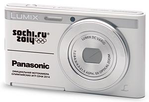 Panasonic выпустил стильные тонкие фотоаппараты  LUMIX DMC-XS1 с олимпийской символикой будущих зимних Игр